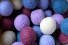 Learn how to use wool yarn or fabric strips to make homemade dryer balls to reduce static, speed drying time and reduce wrinkles.