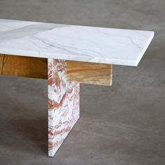 marble table, 3 types of marble