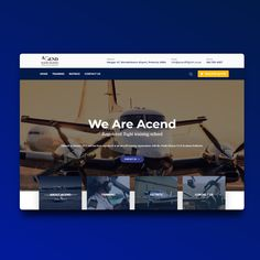 A Flight School that wanted to enable students to view their fleet, view their services and read about the company. School Opening, Training School, Aviation, Wordpress, Students, Website, Reading, Design