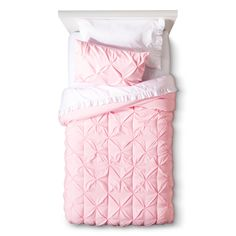 Simply sweet, the Circo™ Pinched Pleat Comforter Set will look lovely in your…