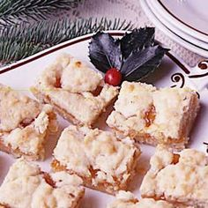 """Winning Apricot Bars ~ Taste of Home.  """"This recipe is 'down-home' baking at its best and has won blue ribbons at county fairs and cookie contests in several states!"""""""