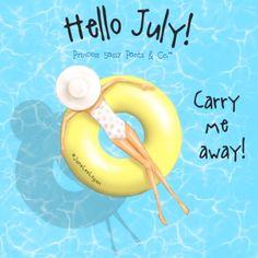 hello july wallpaper