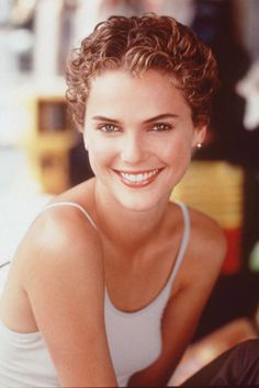 Keri Russell. See the 33 other best celebrity pixie cuts in history.
