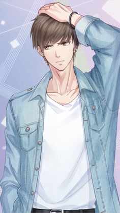 Love and Producer Bai Qi Cool Anime Guys, Handsome Anime Guys, Hot Anime Boy, Anime Art Girl, Anime Boys, Fanarts Anime, Anime Characters, Anime Couples Manga, Manga Anime