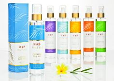 Pure Fiji Hydrating Body Mist  Pure Fiji Product - perfect for hydrating skin while traveling!  Tropical, Natural, Organic Body Care