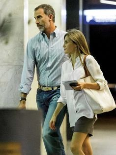 "In the evening of September 3, King Felipe and Queen Letizia were seen in Madrid. King Felipe of Spain and Queen Letizia of Spain watched the new Woody Allen movie ""High Life"" (Café Society) and then they went to ""Charing Boss"" bar with their friends."