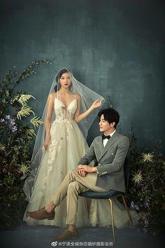 Pre Wedding Poses, Pre Wedding Photoshoot, Bridal Shoot, Wedding Shoot, Wedding Dresses, Korean Wedding Photography, Couple Photography, Engagement Photo Outfits, Wedding Photo Albums