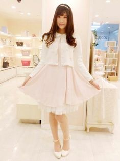 Pearl Button Chester Coat jfashion kawaii japan pink gyaru LIZ LISA