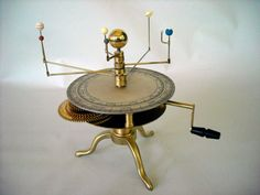 antique planetarium model - Google zoeken