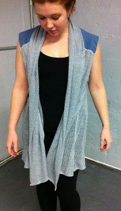Knit summer shawl by JesusSpeak on Etsy, $45.00