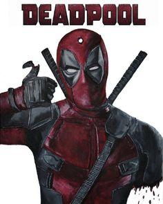 #Deadpool #Fan #Art. (Deadpool) By: KingArtt. (THE * 5 * STÅR * ÅWARD * OF: * AW YEAH, IT'S MAJOR ÅWESOMENESS!!!™)[THANK U 4 PINNING!!!<·><]<©>ÅÅÅ+(OB4E)
