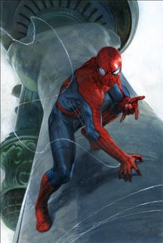 The Amazing Spider-Man #800 (2018) Scott's Collectables Exclsuive Variant Cover by Gabriele Dell'Otto