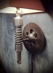 A piston lamp. www.buyautoparts.com