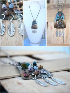 Rustic Earthy Chic Pendant