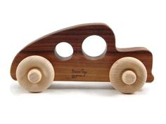 Wooden Toy Hod Rod Car - Bannor Toys Organic and Safe Eco-Friendly Wooden Toys
