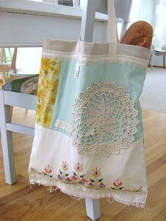 Old Tablecloths- resurrected cuteness!