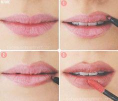 Piękne usta - krok po kroku
