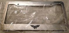 License Plate Covers, License Plate Frames, Things To Buy, Girly Things, Wonder Woman Superhero, Thing 1, Super Mom, Supergirl, Women's Accessories