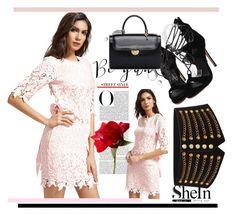 """& SHEIN & 6/ XI"" by nura-akane ❤ liked on Polyvore featuring Maison Margiela"