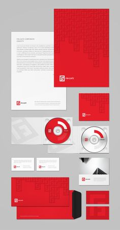 visual identity / FIN - Gate by karol _ mizdrak, via Behance
