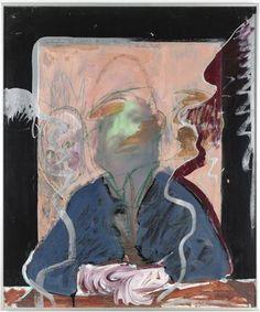 "richard hamilton artist   Richard Hamilton,""Portrait of the Artist by Fr. B. by D. R. by R. H ..."