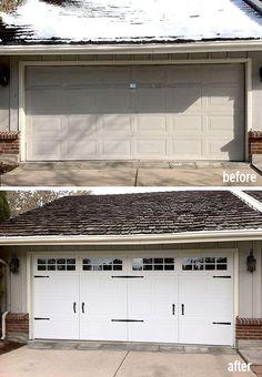 68 best garage door makeover images garage door makeover carriage rh pinterest com