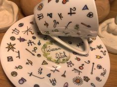 FORTUNE TELLING CUP Fortune telling teacup hand by salemraven