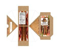 Salisbury University Satellite Dining Sandwich Box by Luke Sohl, via Behance