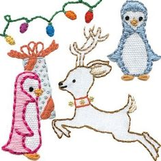 Christmas Time embroidery pattern