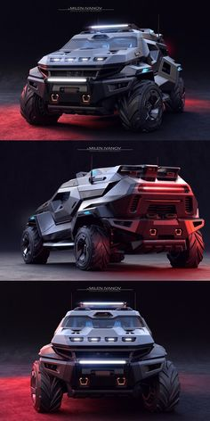 Armortruck SUV Is Ready For The Apocalypse. Is this the ultimate apocalypse SUV? Army Vehicles, Armored Vehicles, Apocalypse, Tactical Truck, Automobile, Armored Truck, Top Luxury Cars, Lamborghini Cars, Futuristic Cars