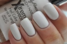 Sally Hansen - White On (Nailed It) This is a good color to use for stamping  nail art