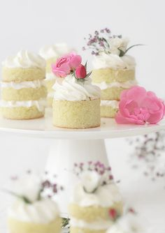 mini lime cake with butter cream frosting Tea Cakes, Mini Cakes, Cupcake Cakes, Cupcakes, Mini Desserts, Just Desserts, White Dinner, Cupcake Recipes, Dessert Recipes