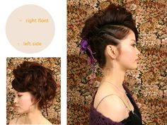 I am absolutely in love with this lil bita punk Updo...&its pretty simple: It's two twists& hair clip