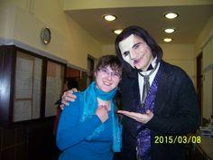 Attila Csengeri as Phantom and me, the little Lotte <3 :)