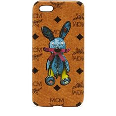 MCM Rabbit Iphone Case ($165) ❤ liked on Polyvore featuring accessories, tech accessories, pattern iphone case, print iphone case, mcm, iphone cover case and monogram iphone case