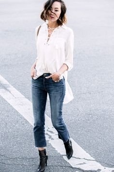 Simple Outfits That Work No Matter Where You Live via @WhoWhatWear