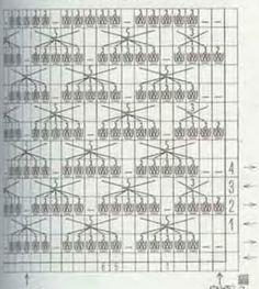 вязанная кофточка - схема