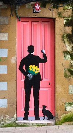 Street Door Art. Creative Painted Doors Around The World.