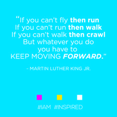 To the great Martin Luther King #IAM #INSPIRED.