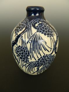 Pinecone vase by Ken Tracy