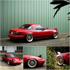 Mazda MX5 / Miata / Eunos - NA / Mk1 (cabriolet / convertible / sports car)