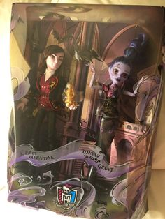 #SDCC Monster High Exclusive 2015 Valentine and Djinni Whisp Grant