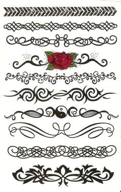 Kids Temporary Tattoos or Stickers Page 04