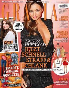 Miranda Kerr for Grazia Germany - January 2013