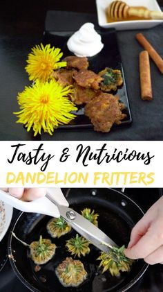 Make sure you don't miss it as this unique opportunity to taste this easy to grow food-source comes just once a year.    #dandelionfritters, #herbalrecipes, #dandelion