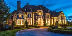 Stone Crest Manor – A 14,000 Square Foot Mansion In Morristown, TN