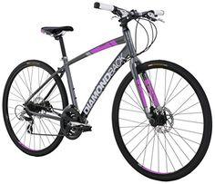 Diamondback Bicycles Women's 2016 Clarity 2 Complete Performance Hybrid Bike, 16 Inch Frame 16 Grey/Pink http://coolbike.us/product/diamondback-bicycles-womens-2016-clarity-2-complete-performance-hybrid-bike-16-inch-frame-16-greypink/