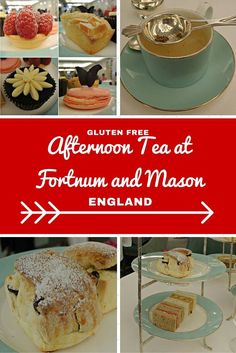 Gluten Free Afternoon Tea At Fortnum And Mason London