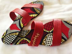 African Accessories, African Jewelry, Women Accessories, Slippers For Plantar Fasciitis, Ankara Bags, Painted Canvas Shoes, African Shirts, Fabric Shoes, Kinds Of Shoes