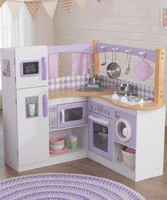Another great find on #zulily! KidKraft Cozy Corner Kitchen by KidKraft #zulilyfinds